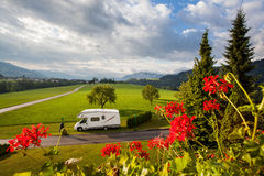 Caravaning Royalty Free Stock Photo