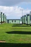 Caravanpark Royalty-vrije Stock Foto