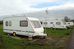 Caravans Royalty Free Stock Photography