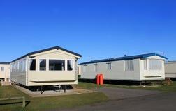 De aanhangwagenpark van de caravan Royalty-vrije Stock Afbeeldingen