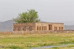 Caravansarai Pasargad Mozaffarid Стоковые Фотографии RF