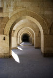Caravansary cloisters Stock Images