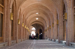 Caravansary Corridor Stock Image
