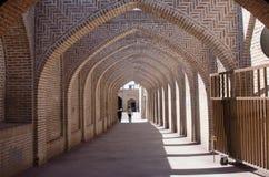Caravansary Corridor. Qazvin Ancient Caravansary in Qazvin royalty free stock image