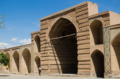 Caravansary Main Hall. Qazvin Ancient Caravansary in Qazvin Stock Images