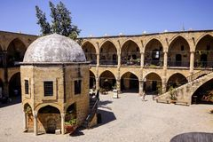 Caravanserai, North Nicosia, Cyprus Royalty Free Stock Photos
