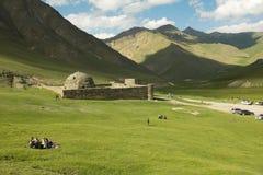 Caravanserai in Tash Rabat, Kyrgyzstan Stock Foto