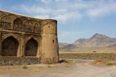 Caravanseray cerca de Naein, Irán Foto de archivo