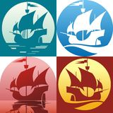 Caravel  Royalty Free Stock Images
