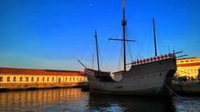 Caravel portugués Foto de archivo libre de regalías