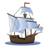 Caravel Royalty Free Stock Photo