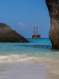 Caravel on the Similan island, Thailand Royalty Free Stock Photo
