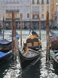 Caravel. A traditional caravel in Venice, Veneto Stock Image