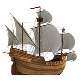 Caravel. Royalty Free Stock Image