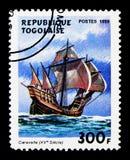 Caravella, serie delle navi di navigazione, circa 1999 Fotografia Stock Libera da Diritti