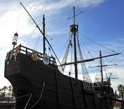 Caravels of Christopher Columbus, La Rabida, Huelva province, Spain Royalty Free Stock Images
