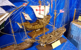 Caravels model Stock Images