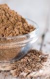 Caraway Powder in a bowl royalty free stock image