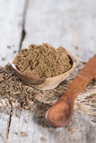 Caraway Powder in a bowl Stock Photography
