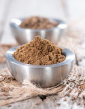 Caraway Powder in a bowl stock photo