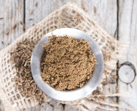 Caraway Powder in a bowl royalty free stock photo
