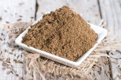 Caraway Powder stock images