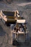 Carbón de la mina a cielo abierto Imagen de archivo