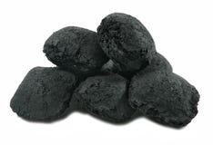 Carbón de leña Fotos de archivo libres de regalías
