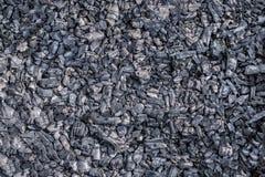 Carbón de leña de la textura del fondo natural Fotos de archivo