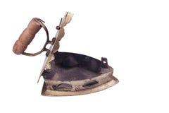 Carbón de leña del hierro Fotografía de archivo