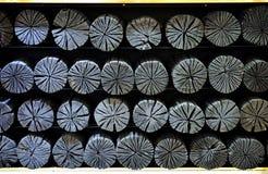 Carbón de leña para la decoración Imagen de archivo libre de regalías