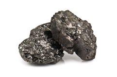 Carbón de piedra Imágenes de archivo libres de regalías