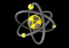 Carbón del átomo stock de ilustración