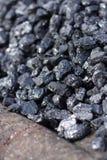 Carbón - detalle ascendente cercano Imágenes de archivo libres de regalías