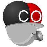 Carbón industry-3 del icono Foto de archivo