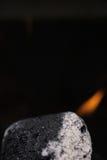 Carbón macro fotografía de archivo libre de regalías