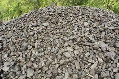 Carbón para el invierno Foto de archivo