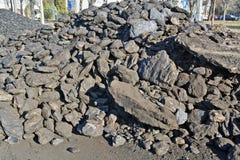 Carbón para el invierno Fotografía de archivo