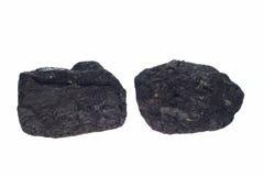 Carbón, pepitas del carbón Fotografía de archivo
