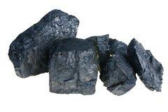 Carbón polaco negro Imágenes de archivo libres de regalías