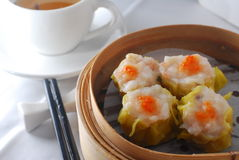 Carb roe pork dim sum Royalty Free Stock Photo