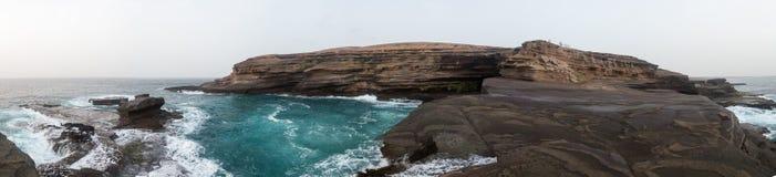 Carberinho. Panoramic view. Island Sao Nicolau Royalty Free Stock Photo