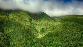 Carbet Falls - Les Chutes Du Carbet, Islands Of Guadeloupe: Basse-Terre, Grande-Terre, Marie-Galante, Les Saintes, La Desirade Stock Photos