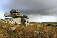 Carbilly Tor on Bodmin Moor Stock Photo