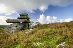 Carbilly Tor on Bodmin Moor Royalty Free Stock Photos