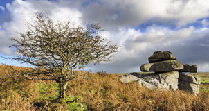 Carbilly Tor on Bodmin Moor Royalty Free Stock Image
