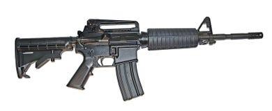 Carbine Norinco αμερικάνικου στρατού που απομονώνεται Στοκ Εικόνες
