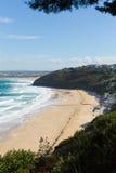 Carbis Bay Cornwall England with sandy beach Stock Photos