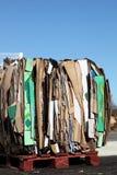 carboard ανακύκλωση συσκευα&sigm Στοκ Εικόνα
