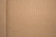 Carboard with crease Stock Image